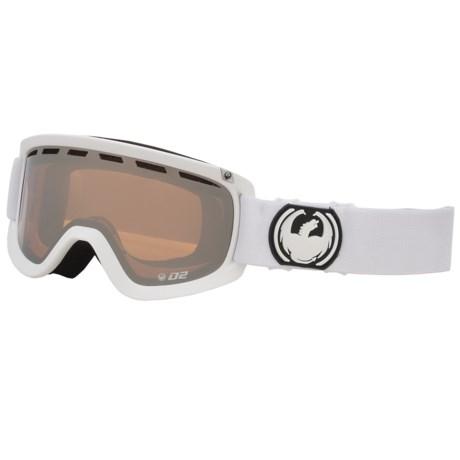 Dragon Alliance D2 Snowsport Goggles in Powder/Amber