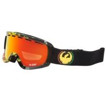 Dragon Alliance D2 Snowsport Goggles in Rastaicon/Redion Amber - Closeouts