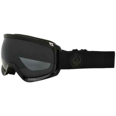 Dragon Alliance D3 OTG Ski Goggles in Murdered/Dark Smoke - Closeouts