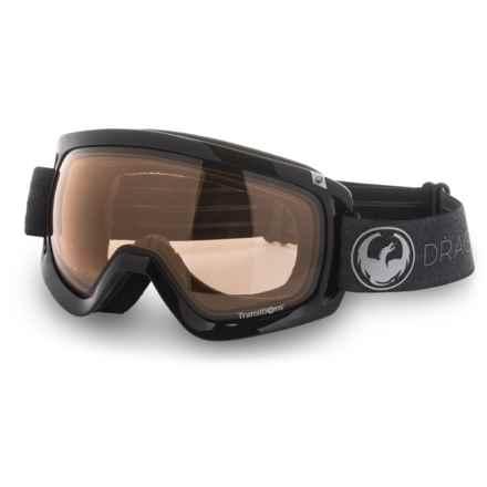 Dragon Alliance D3 OTG Ski Goggles - Transitions® Photochromic Lens in Echo/Amber - Overstock