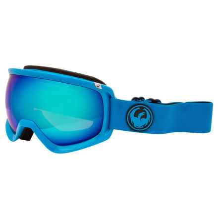 Dragon Alliance D3 Ski Goggles in Azure/Blue Steel - Closeouts