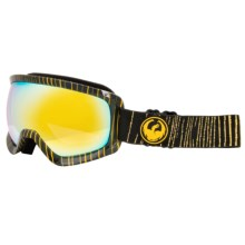 Dragon Alliance D3 Ski Goggles in Geo/Gold Ionized - Closeouts
