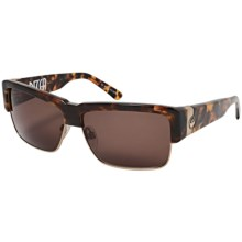 Dragon Alliance Decca Sunglasses - Acetate Frame in Tortoise/Bronze - Closeouts