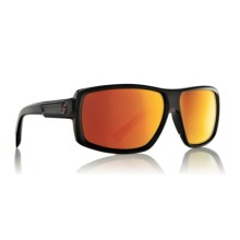 Dragon Alliance Double Dos Sunglasses - Polarized in Jet Red/Red Ion - Closeouts