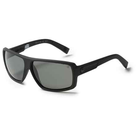 Dragon Alliance Double Dos Sunglasses - Polarized in Matte Stealth Grey Polar H2 - Closeouts