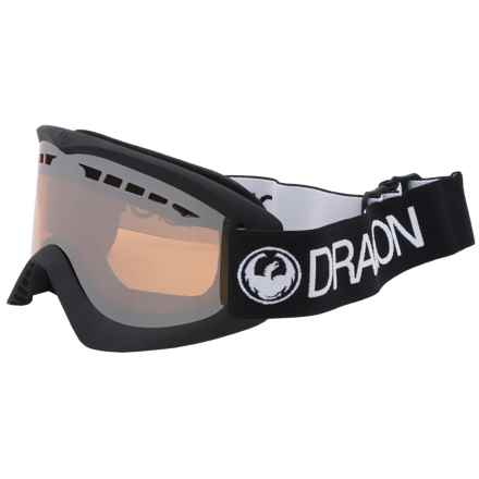 Dragon Alliance DX Ski Goggles in Coal Ion - Closeouts