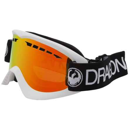 Dragon Alliance DX Ski Goggles in Inverse Red Ion - Closeouts