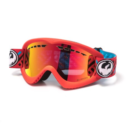Dragon Alliance DX Ski Goggles in Mod/Red Ion