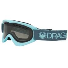 Dragon Alliance DX Ski Goggles - Smoke Lens in Pale/Smoke - Closeouts