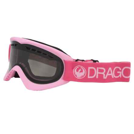 Dragon Alliance DX Ski Goggles - Smoke Lens in Pink/Smoke - Closeouts
