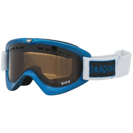 Dragon Alliance DX Snowsport Goggles in Blue Metal Fleck/Jet