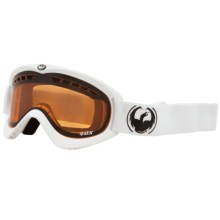 Dragon Alliance DX Snowsport Goggles in Powder/Amber - Closeouts