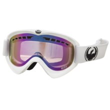 Dragon Alliance DX Snowsport Goggles - Ionized Lens in Powder/Pink Ionized - Closeouts
