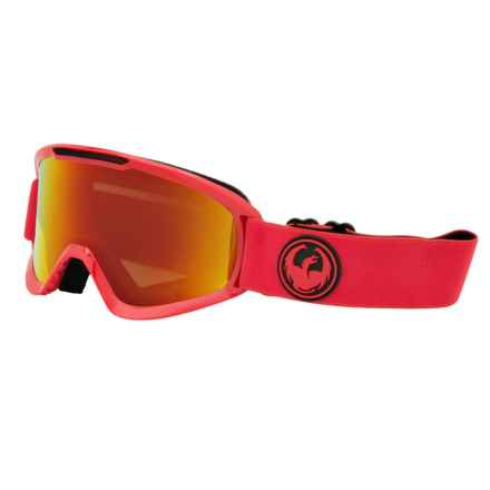 Dragon Alliance DX2 Ski Goggles - Ion Lens in Bitter/Red Ionized - Closeouts