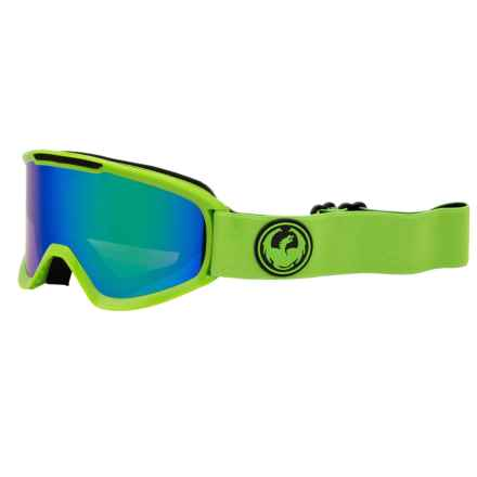 Dragon Alliance DX2 Ski Goggles - Ion Lens in Reflect/Green Ion - Closeouts