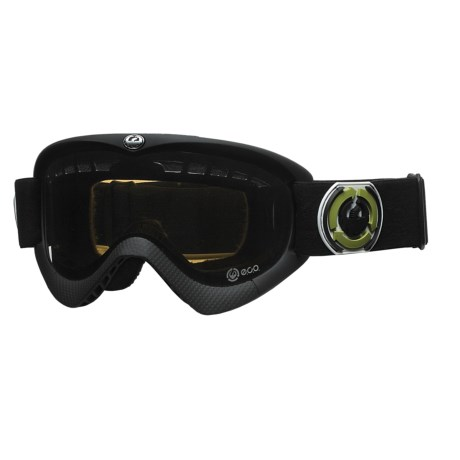 Dragon Alliance DXS E.C.O. Snowsport Goggles with Extra Lens in Coal/Jet/Pink Ion