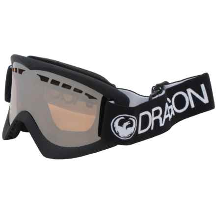 Dragon Alliance DXS Ski Goggles in Coal Ion - Closeouts