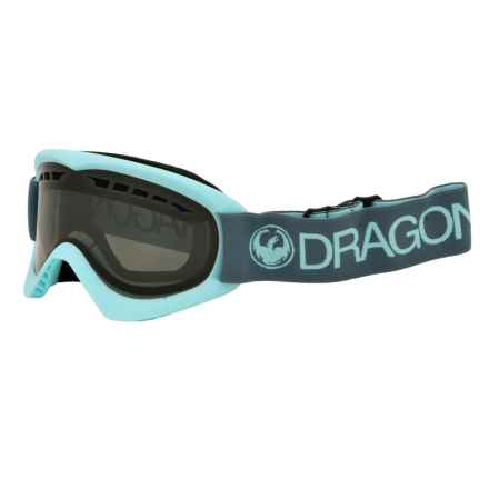 Dragon Alliance DXS Ski Goggles in Pale/Smoke - Closeouts