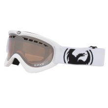 Dragon Alliance DXS Snowsport Goggles - Interchangeable Lens in Powder/Ionized - Closeouts