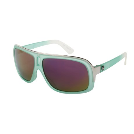 Dragon Alliance GG Sunglasses - Color Injected (For Men and Women) in Sea Fade/Purple Ionized