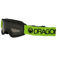 Dragon Alliance Lil D Ski Goggles (For Kids) in Reflect/Smoke - Closeouts