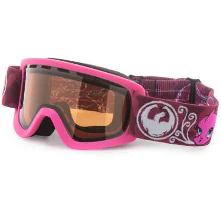 Dragon Alliance Lil D Ski Goggles in Gilly/Silver Ion - Overstock