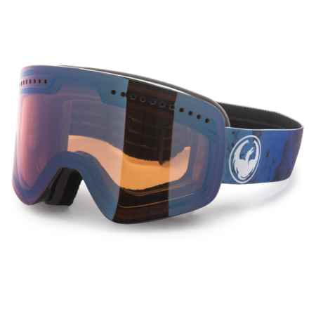 Dragon Alliance NFX Ski Goggles in Ink/Blue Ion - Overstock