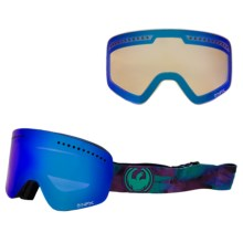 Dragon Alliance NFX Snowsport Goggles - Ionized, Interchangeable Lens in Watercolor/Blue Steel Yellow Blue Ion - Closeouts
