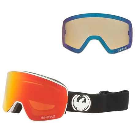 Dragon Alliance NFX2 Ski Goggles - Extra Lens in Inverse/Red Ion/Yellow Blue Ion - Closeouts