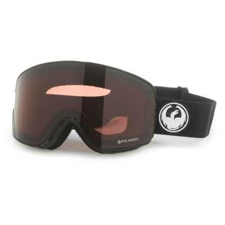 Dragon Alliance NFX2 Ski Goggles - Polarized in Black/Brown - Overstock