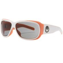 Dragon Alliance Pinup Sunglasses (For Women) in White/Peach/Split Grey - Closeouts