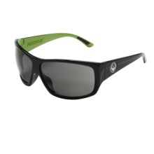 Dragon Alliance Recruit Sunglasses in Jet Lime/Grey - Closeouts