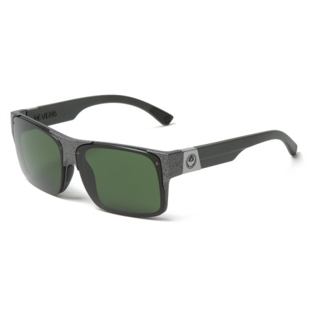 bbbba951e00 Dragon Alliance Reverb Sunglasses (For Men) in Gunmetal Marble Green -  Closeouts