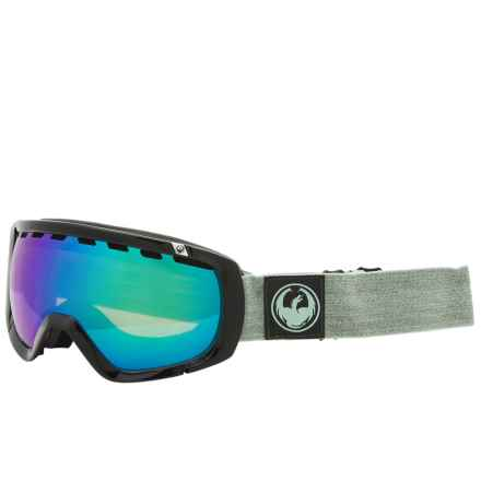Dragon Alliance Rogue Ski Goggles - Extra Lens in Hone Emerald/Optf Green/Optf Blue - Overstock
