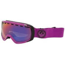 Dragon Alliance Rogue Ski Goggles - Ion Lens in Violet/Purple Ionized - Closeouts