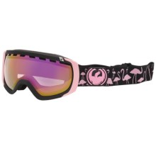 Dragon Alliance Rogue Snowsport Goggles in Flamingos/Pink Ionized - Closeouts