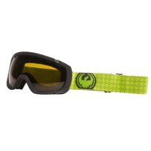 Dragon Alliance Rogue Snowsport Goggles in Green Chili/Jet - Closeouts