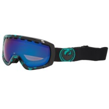 Dragon Alliance Rogue Snowsport Goggles in Iconteal/Blue Steel - Closeouts
