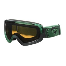 Dragon Alliance Rogue Snowsport Goggles - Spherical Lens in Block Teal Moss/Ionized - Closeouts