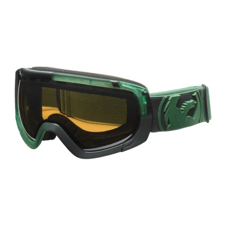 Dragon Alliance Rogue Snowsport Goggles - Spherical Lens in Block Teal Moss/Ionized