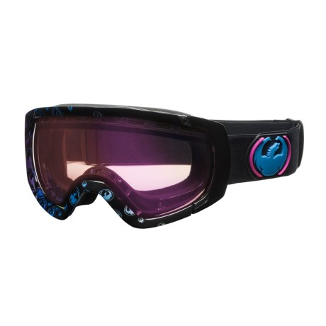 Dragon Alliance Rogue Snowsport Goggles - Spherical Lens in Gradient Logo/Pink Ion