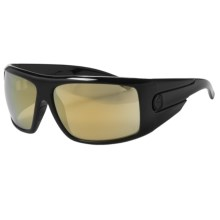 Dragon Alliance Shield Sunglasses - Gold Ion lenses in Black Gold/Gold Ion - Closeouts