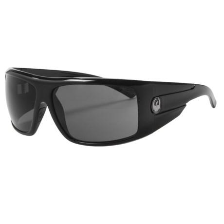 Dragon Alliance Shield Sunglasses in Jet/Grey