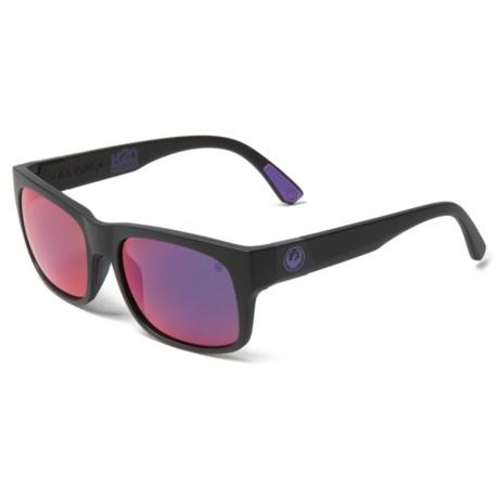0d1993c02ba Dragon Alliance Tailback H2O Sunglasses (For Men) in Matte H2o Plasma Ion