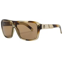 Dragon Alliance The Jam Sunglasses - Polarized, Painted Frame in Translucent Brown Stripe/Bronze - Closeouts