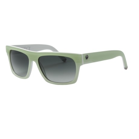 Dragon Alliance Viceroy Sunglasses in Black Green Stripe/Grey