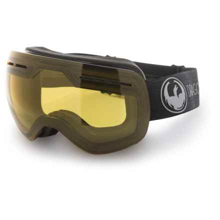 Dragon Alliance X1S Ski Goggles - Transitions® Photochromic Lens in Echo/Yellow - Overstock