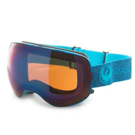 705326030e74 Dragon Alliance X2 Ski Goggles - Polarized Lens in Mill Blue Ion Amber -
