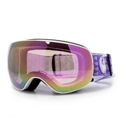 Dragon Alliance X2s Ski Goggles - Extra Lens in Amp/Pink Ion/Dark Smoke - Closeouts