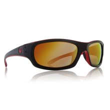 Dragon Alliancel Chrome 2 Sunglasses - Ionized Lenses in Jet/Red Ion - Closeouts